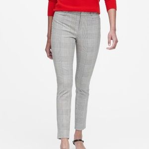 Modern Sloan Skinny-fit Plaid Pant